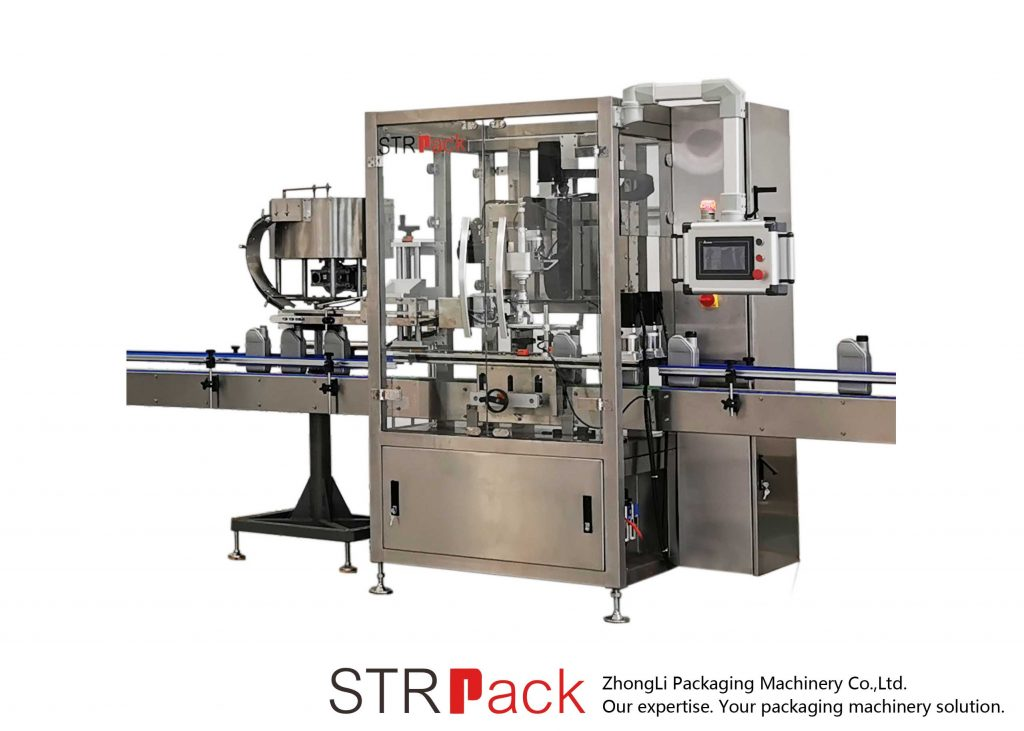 स्वचालित निरन्तर क्यापिंग मेशीन