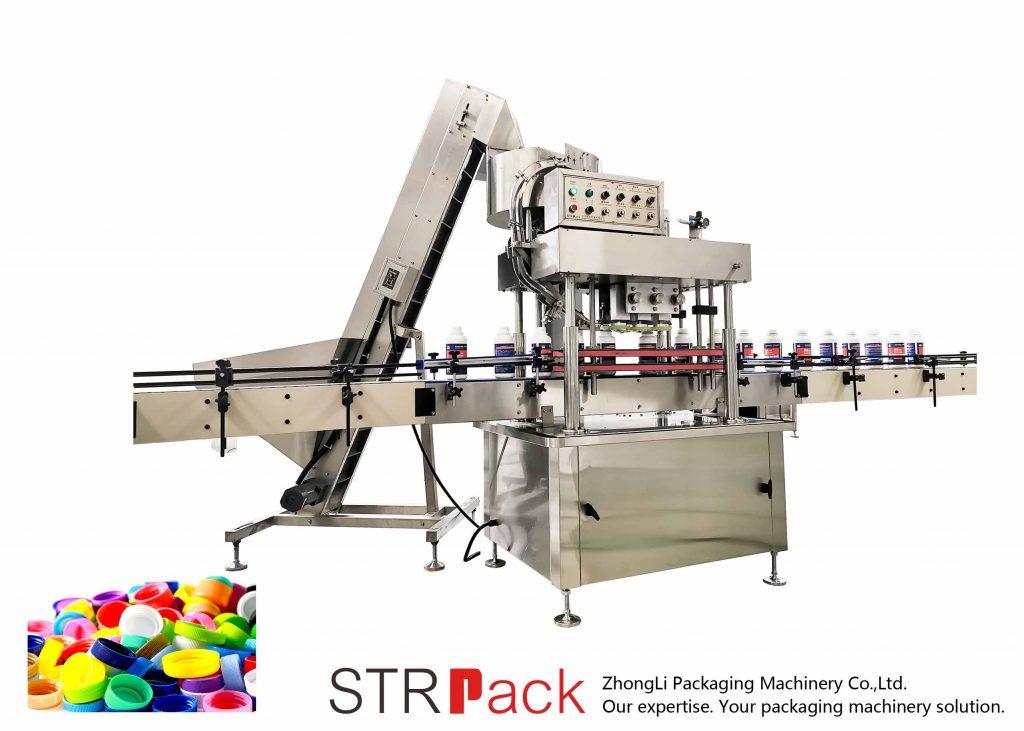 स्वचालित लिनियर क्यापिंग मशीन