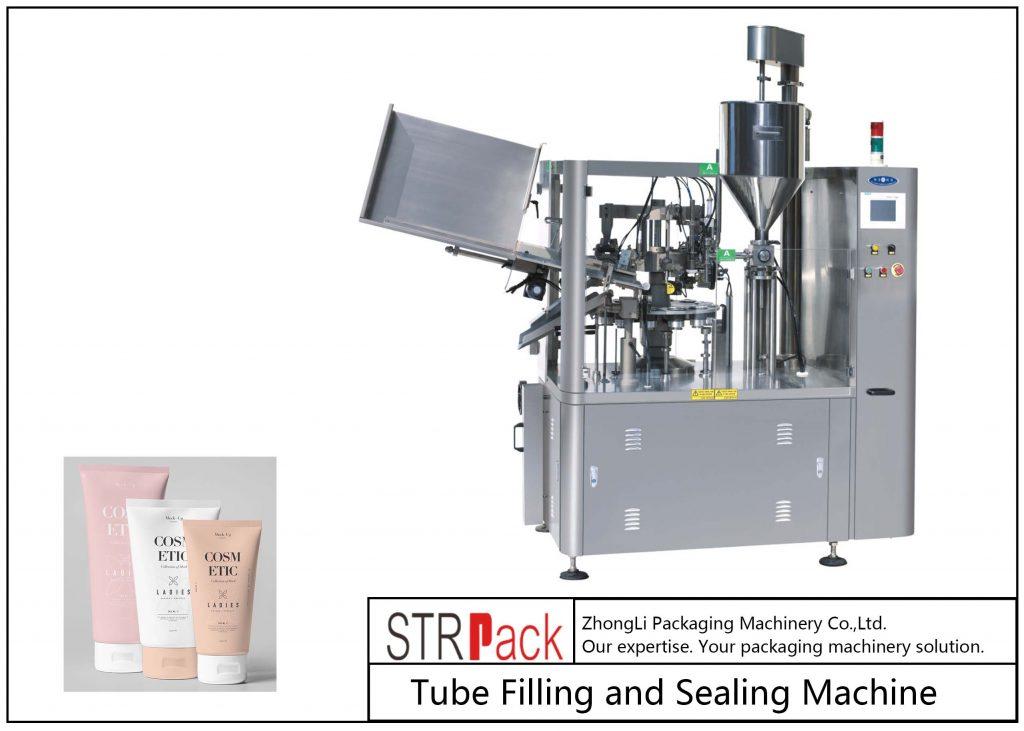 SFS-100 प्लास्टिक ट्यूब भरने र सिलि Machine मेसिन