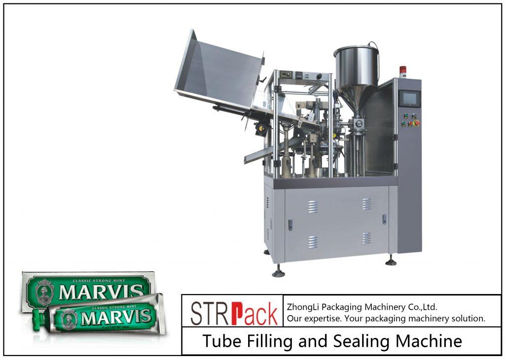 SFS-60 प्लास्टिक ट्यूब भरने र सिलि Machine मेसिन