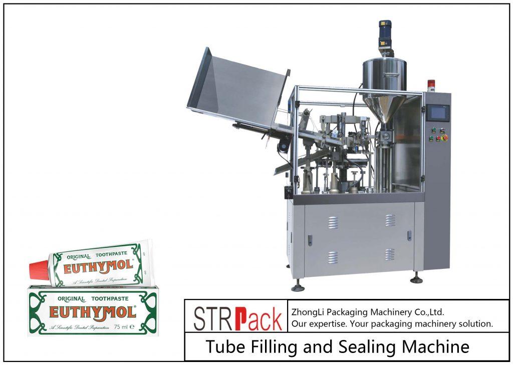 SFS-60Z धातु ट्यूब भरने र सिलि Machine मेसिन