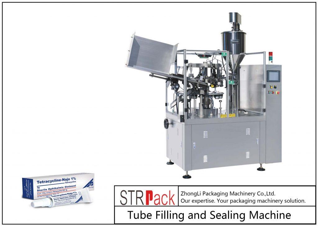 SFS-80Z धातु ट्यूब भरने र सिलि Machine मेसिन
