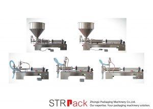 अर्ध स्वचालित पिस्टन लिक्विड फिलिंग मेशीन